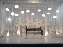 Wedding Reception Stage (minimal Style)